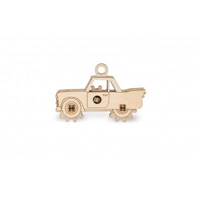 Eco-Wood-Art-51 3D Wooden Jigsaw Puzzle - Car