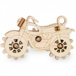 Eco-Wood-Art-54 3D Wooden Jigsaw Puzzle - Bike
