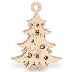 Eco-Wood-Art-55 3D Wooden Jigsaw Puzzle - Christmas Tree
