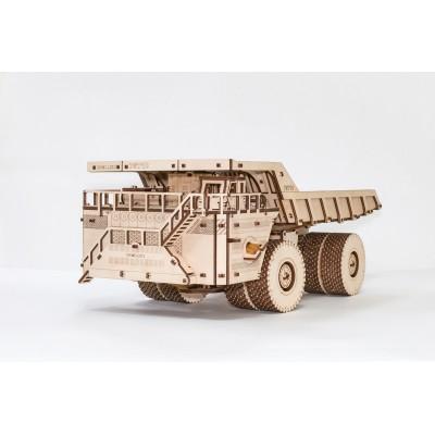 Eco-Wood-Art-56 3D Wooden Jigsaw Puzzle - Belaz 75710