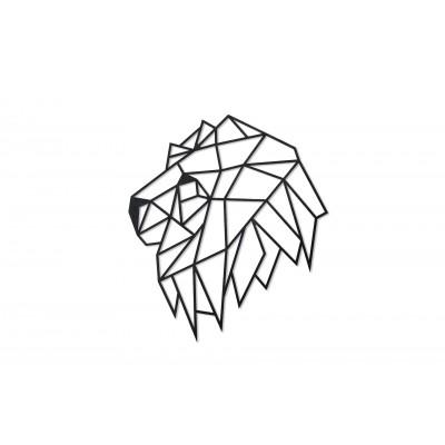 Eco-Wood-Art-77 Wooden Puzzle - Lion Head