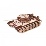 Eco-Wood-Art-82 3D Wooden Puzzle - Tank T-34-85
