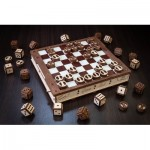 Mechanical 3D-puzzle of the Classic Board Games