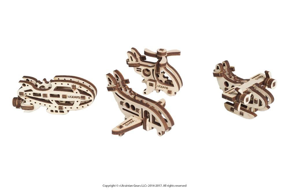 3D Wooden Jigsaw Puzzle U Fidgets