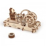 Ugears-12012 3D Wooden Jigsaw Puzzle - Pneumatic Engine