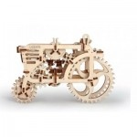 Ugears-12018 3D Wooden Jigsaw Puzzle - Tractor