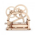 Ugears-12021 3D Wooden Jigsaw Puzzle - Mechanical Box