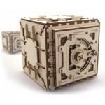Ugears-12022 3D Wooden Jigsaw Puzzle - Safe
