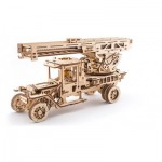 Ugears-12031 3D Wooden Jigsaw Puzzle - Fire Ladder