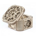 Ugears-12059 3D Wooden Jigsaw Puzzle - Treasure Box