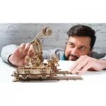Ugears-12060 3D Wooden Jigsaw Puzzle - Rail Mounted Manipulator