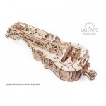 Ugears-12064 3D Wooden Jigsaw Puzzle - Hurdy-Gurdy