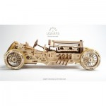 Ugears-12068 3D Wooden Jigsaw Puzzle - U-9 Grand Prix Car