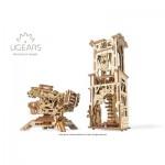 Ugears-12075 3D Wooden Jigsaw Puzzle - Archballista-Tower