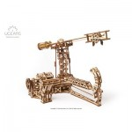 Ugears-12083 3D Wooden Jigsaw Puzzle - Aviator mechanical model kit