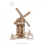 Ugears-12084 3D Wooden Jigsaw Puzzle - Tower Windmill