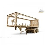Ugears-12087 3D Wooden Jigsaw Puzzle - Trailer for Heavy Boy Truck VM-03