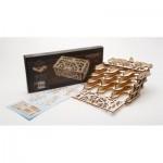 Ugears-12090 3D Wooden Jigsaw Puzzle - Card Holder