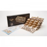Ugears-12090 3D Wooden Jigsaw Puzzle - Card Holder