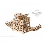 Ugears-12093 3D Wooden Jigsaw Puzzle - Dice Keeper
