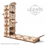 Ugears-12094 3D Wooden Jigsaw Puzzle - Modular Dice Tower