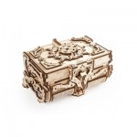 Ugears-12100 3D Wooden Jigsaw Puzzle - Antique Box