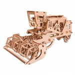 3D Wooden Jigsaw Puzzle - Combine Harvester