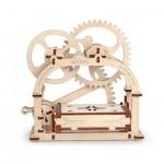 3D Wooden Jigsaw Puzzle - Mechanical Box