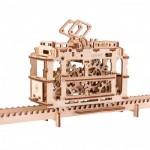 3D Wooden Jigsaw Puzzle - Tram on Rails