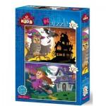 2 Puzzles - Halloween