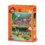 2 Puzzles - Wildlife