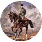 Art-Puzzle-4135 Jigsaw Puzzle Clock - Ghazi Mustafa Kemal Atatürk