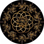 Art-Puzzle-4147 Jigsaw Puzzle Clock - Danse with the Night