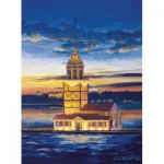 Puzzle  Art-Puzzle-4159 Turkey : Maiden's Tower