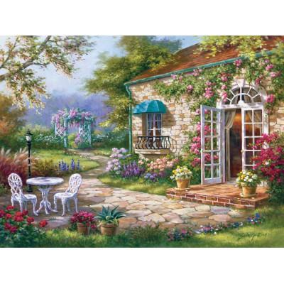Puzzle Art-Puzzle-4177 Sung Kim : Spring Patio II