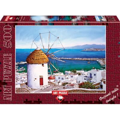 Puzzle Art-Puzzle-4184 Greece : Mykonos