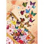 Puzzle  Art-Puzzle-4200 Butterflies