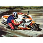 Puzzle  Art-Puzzle-4201 Racing Motorcycle