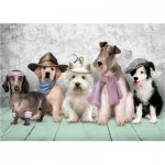 Puzzle  Art-Puzzle-4205 Dogs