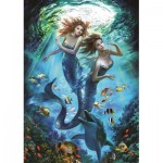 Puzzle  Art-Puzzle-4209 Mermaids