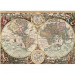 Puzzle  Art-Puzzle-4276 Antique World Map