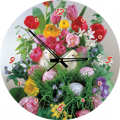Art-Puzzle-4290 Puzzle Clock - You Know I Love You