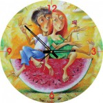 Art-Puzzle-4291 Puzzle Clock - I Love You...