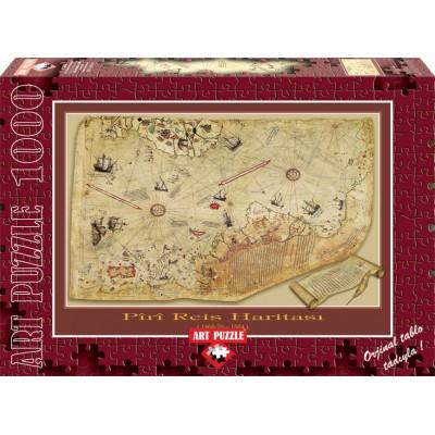 Puzzle Art-Puzzle-4308 The Piri Reis Map