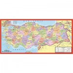 Puzzle  Art-Puzzle-4346 The Political Map of Turkey