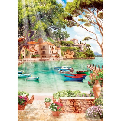 Puzzle Art-Puzzle-4367 Peaceful Good Morning