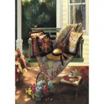 Art-Puzzle-4440 Wooden Jigsaw Puzzle - Summer Shade