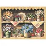 Art-Puzzle-4447 Wooden Jigsaw Puzzle - Cupboard Garden