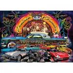 Art-Puzzle-4454 Neon Jigsaw Puzzle - Cruisin Classics