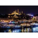 Art-Puzzle-4455 Neon Jigsaw Puzzle - Eminönü, Istanbul